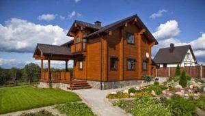 На участке площадью 1000 м2 можно построить любой дом и остается еще много места на сад